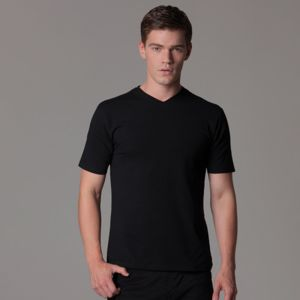 Cafe bar top v-neck short sleeve Thumbnail