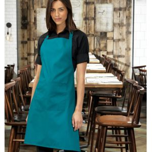 Colours bib apron with pocket Thumbnail