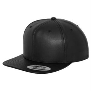 Full leather imitation snapback (6089FL) Thumbnail