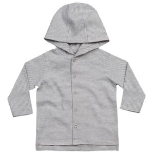 Baby stripy hooded T Thumbnail