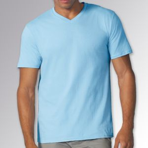 Premium Cotton® adult v-neck t-shirt Thumbnail