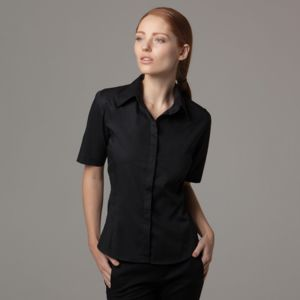Women's bar shirt short sleeve (tailored fit) Thumbnail