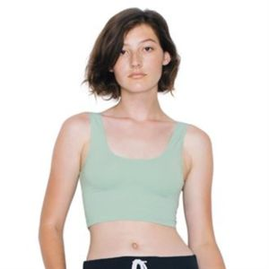 Cotton Spandex crop top Thumbnail