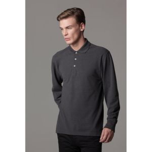 Piqué polo long sleeved Thumbnail