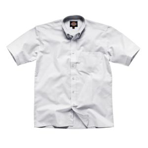 Oxford weave short sleeve shirt (SH64250) Thumbnail