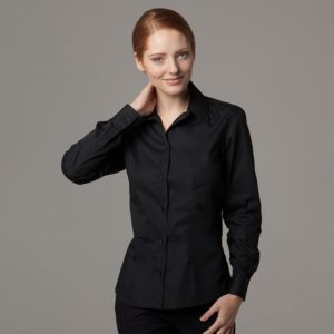 Women's bar shirt long sleeve (tailored fit) Thumbnail