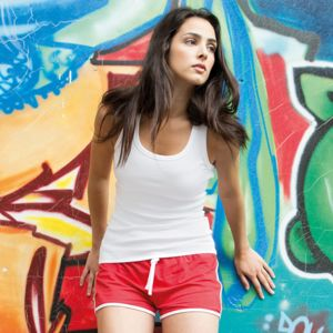 Women's retro shorts Thumbnail