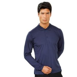 Long sleeve Coolchecker® piqué polo Thumbnail