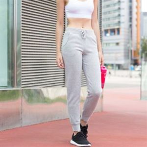 Women's slim cuffed joggers Thumbnail