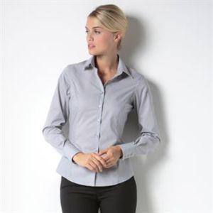 Business blouse long-sleeved (tailored fit) Thumbnail