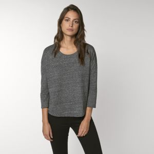 Women's Stella Waver slub women's ¾ sleeve dropped shoulder t-shirt (STTW114) Thumbnail