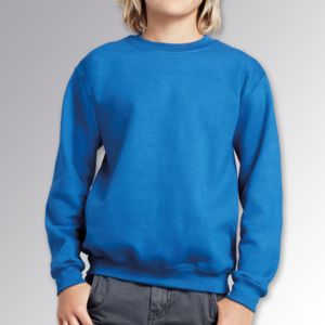 Childrens Heavy Blend Crew Neck Sweatshirt Thumbnail