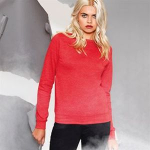 Affiliate Girlie heather sweatshirt Thumbnail